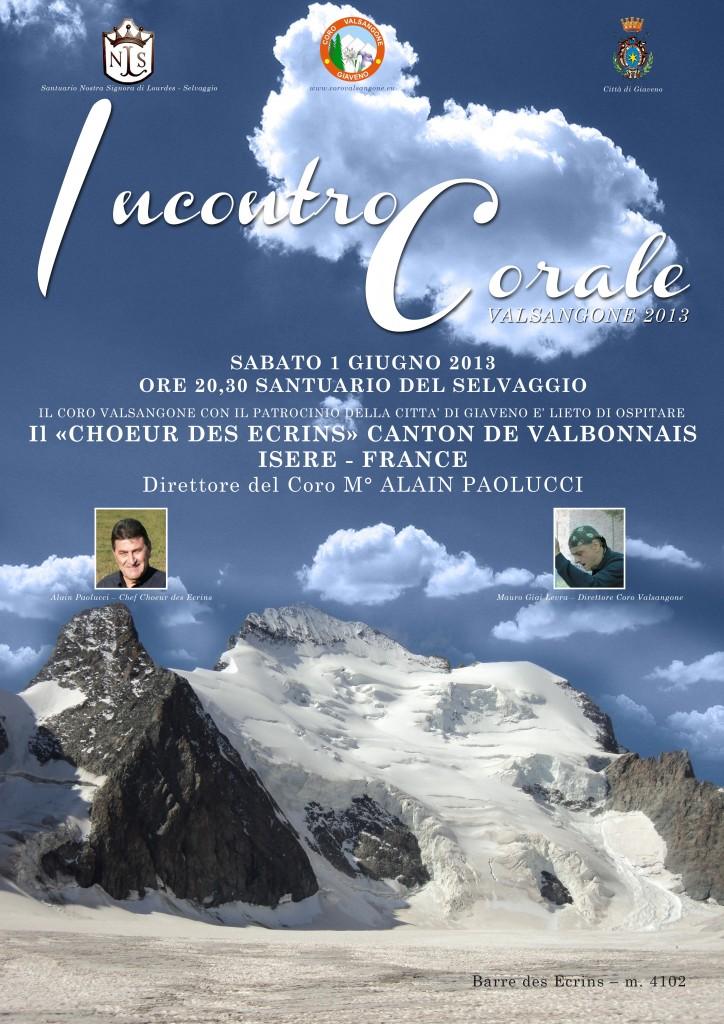 Manifesto Incontro corale 1-2giugno 2013